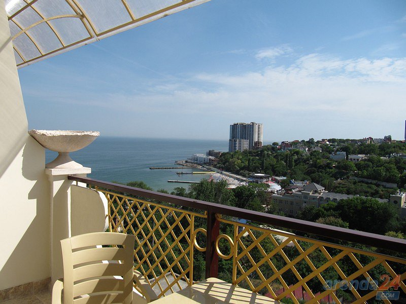 Посуточно 2 ком. в Одессе  с видом на море.  Аркадийский дворец Blue, новострой в Аркадии у самого моря (4)