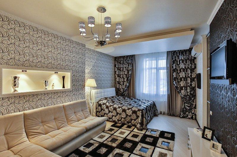 1-кімнатна квартира подобово, Київ, вул. Микільсько-Слобідська, 1А