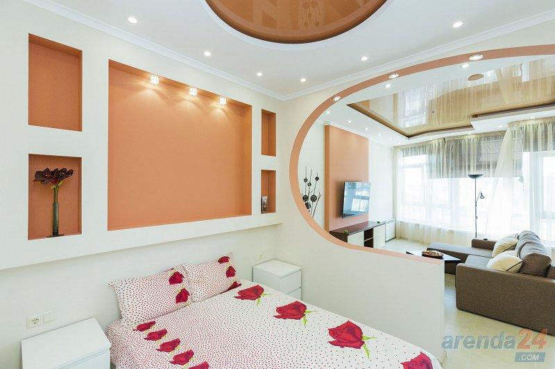 1-комнатная квартира посуточно, Киев, ул. Жилянская, 118 (1)