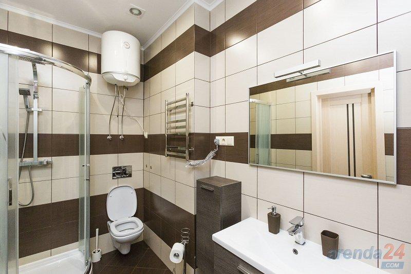 1-комнатная квартира посуточно, Киев, ул. Жилянская, 118 (6)