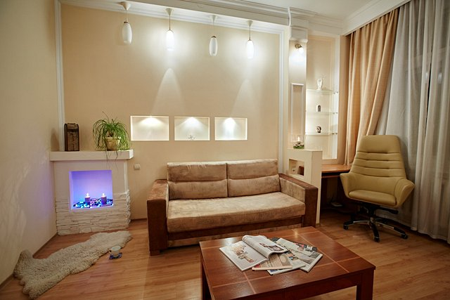 Однокомнатная квартира в исторической части города. (1)