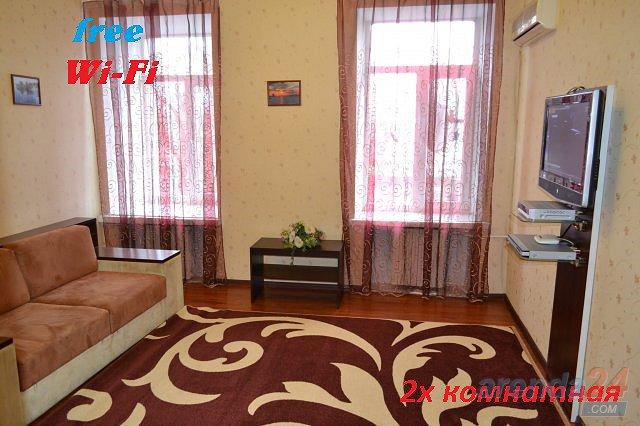 2-комнатная квартира посуточно, Днепр, ул. Вокзальная, 6