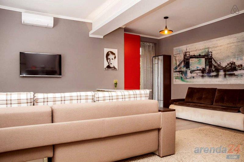 Дизайнерская 1-к Евро квартира посуточно, Центр, ЖД, Автовокзал (2)