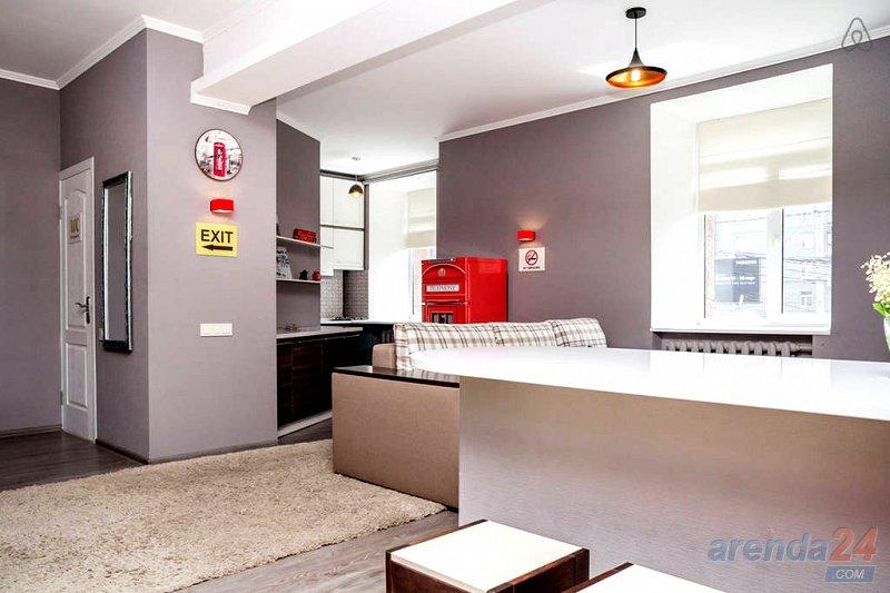 Дизайнерская 1-к Евро квартира посуточно, Центр, ЖД, Автовокзал (5)