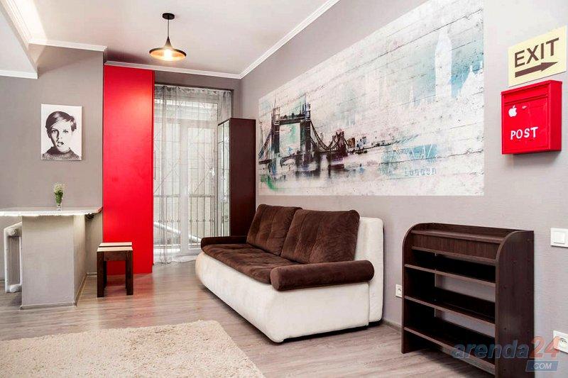 Дизайнерская 1-к Евро квартира посуточно, Центр, ЖД, Автовокзал