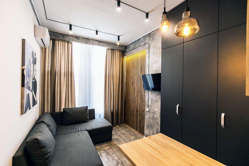 1-комнатная квартира посуточно, Днепр, ул. Луговская, 255 (1)