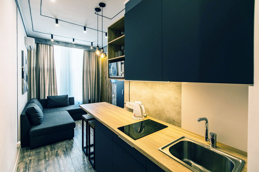 1-комнатная квартира посуточно, Днепр, ул. Луговская, 255 (3)