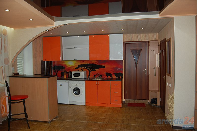 1-кімнатна квартира подобово, Луганськ, вул. Сосюры, 135