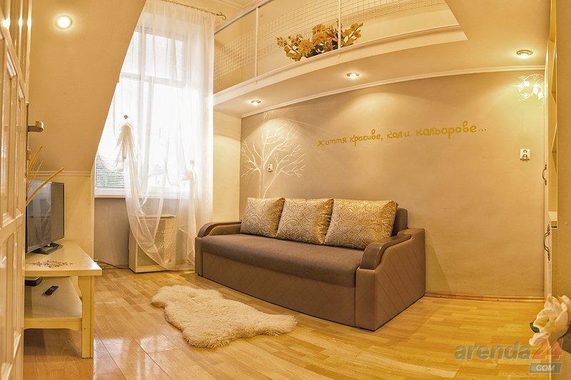 1-комнатная квартира посуточно, Львов, ул. Городоцкая, 87 (2)