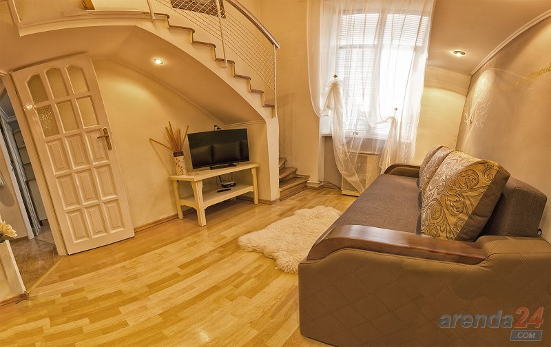 1-комнатная квартира посуточно, Львов, ул. Городоцкая, 87 (3)