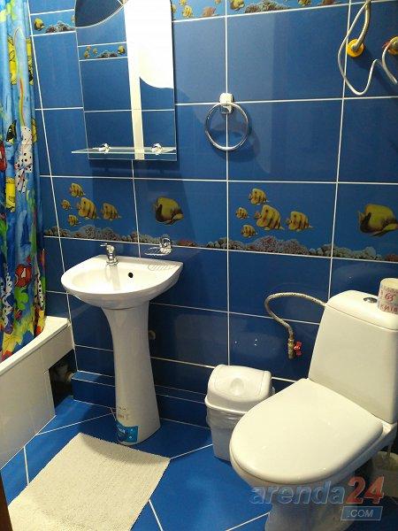 Трускавец. Квартира в стиле Шале синяя (6)