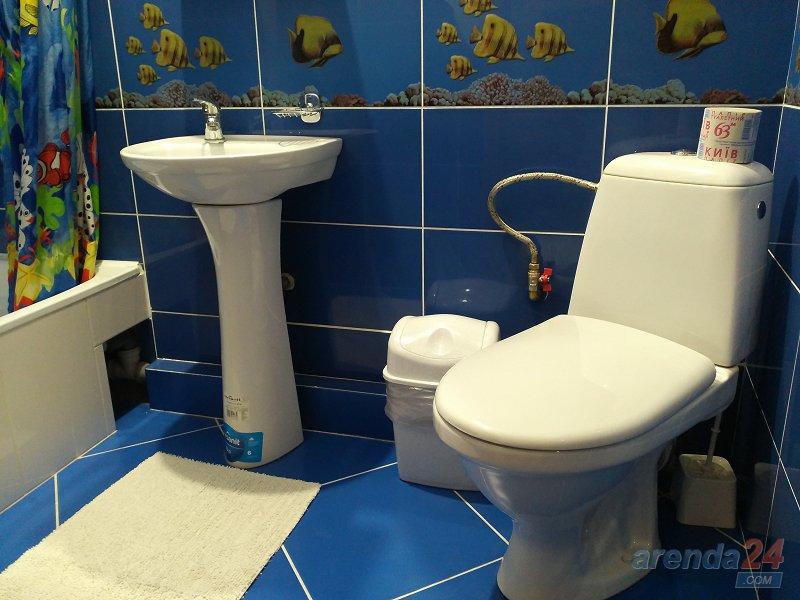 Трускавец. Квартира в стиле Шале синяя (7)