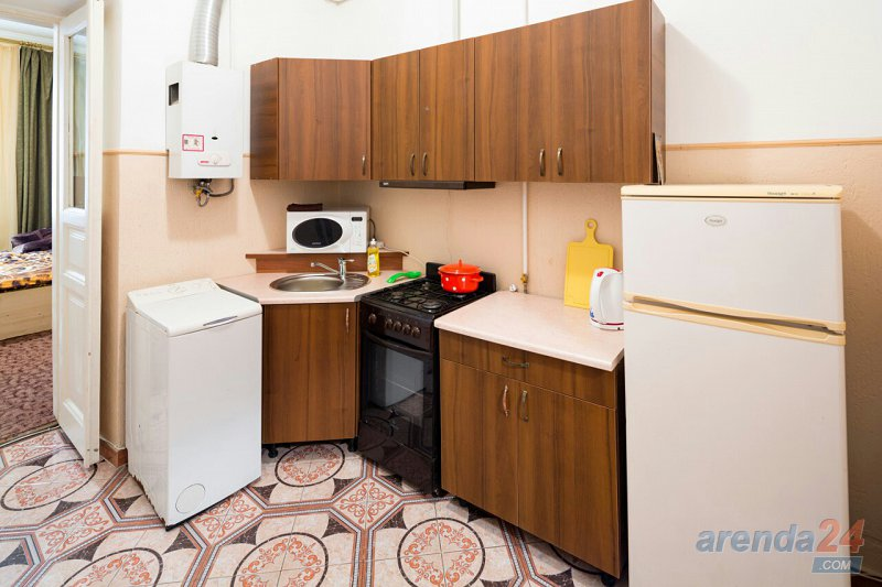 1-комнатная квартира посуточно, Львов, ул. Кулиша, 45