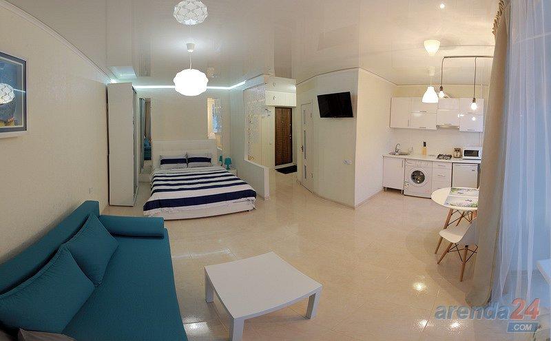 1-кімнатна квартира подобово, Миколаїв, вул. Адміральска, 19 (1)