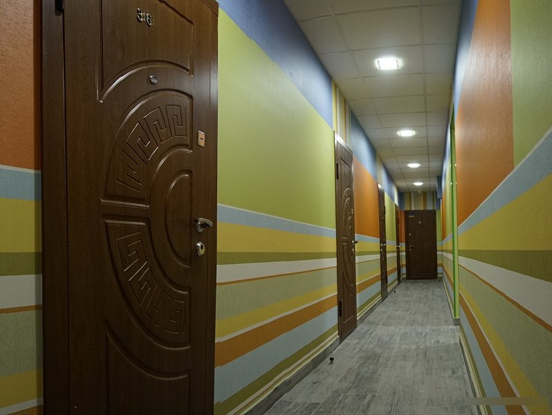 Уютные современные номера посуточно,новый апарт-отель. (6)