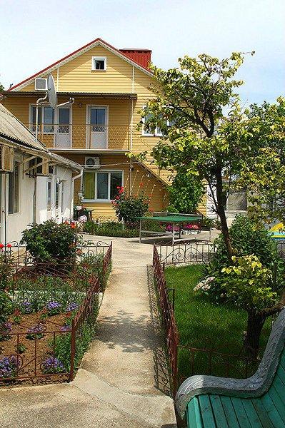 Евпатория жилье у моря дом в частном секторе Заозерное