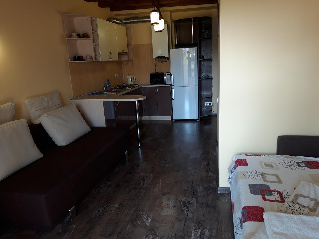 1-pokojowe mieszkanie dobowe, Lwów, plac Рынок, 18 (3)
