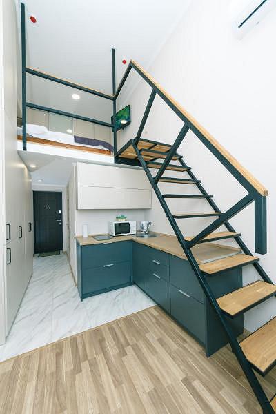 Апартаменты 2х уровневые стандарт и делюкс
