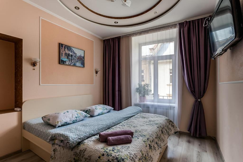 1-pokojowe mieszkanie dobowe, Lwów, ul. Староєврейська, 20 (4)