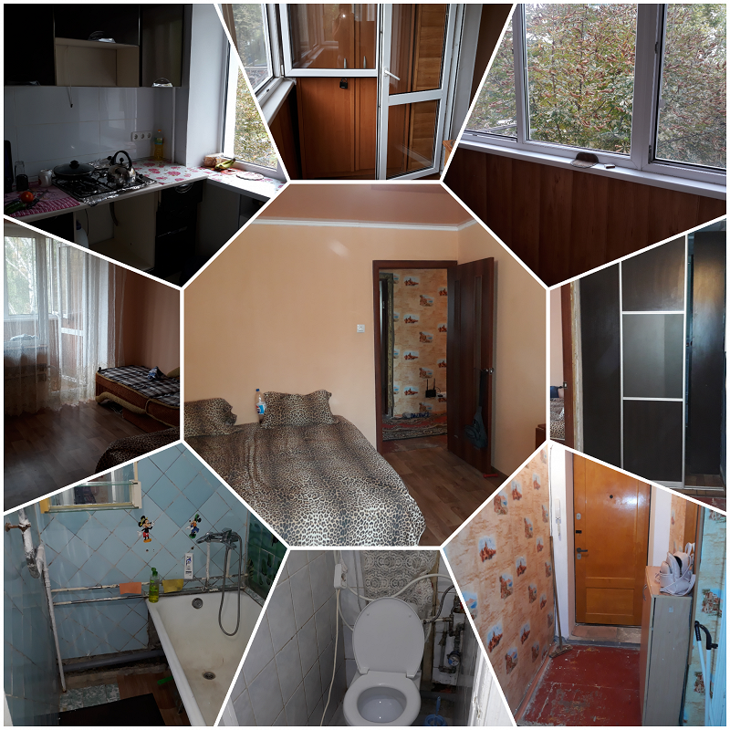 1-комнатная квартира посуточно, Черноморск (Ильичевск), ул. Парусная, 4а