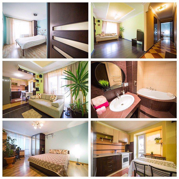 3-комнатная квартира посуточно, Львов, ул. Базарная, 50 (5)