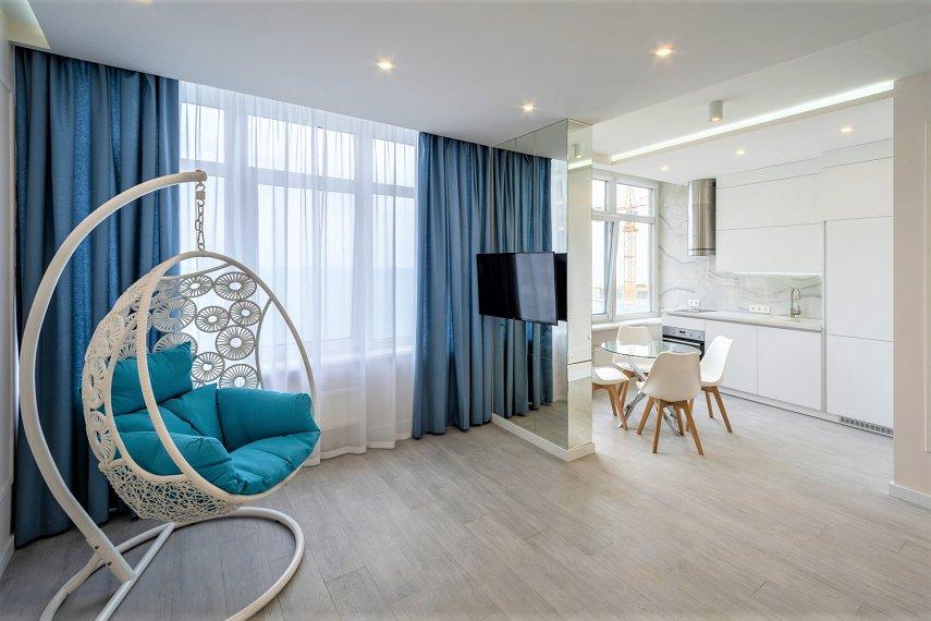 VIP апартаменты в Аркадии с панорамным видом на море