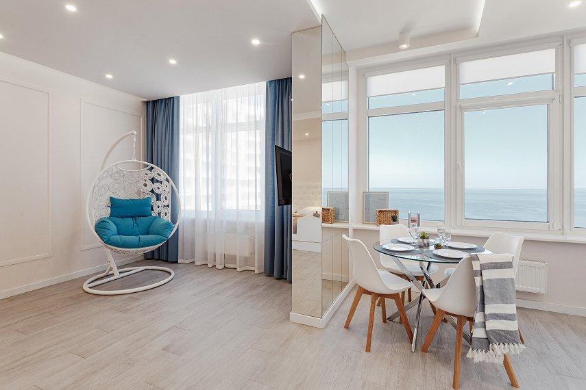 VIP апартаменты в Аркадии с панорамным видом на море (1)
