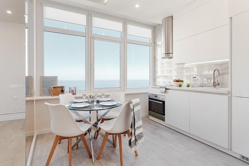 VIP апартаменты в Аркадии с панорамным видом на море (3)