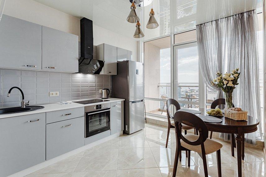 VIP апартаменты с террасой и видом на море на 25 этаже! (1)