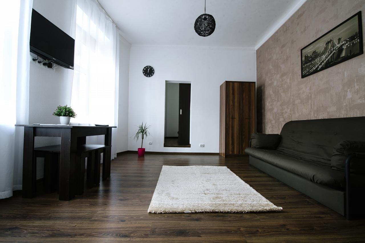 Двухкомнатная квартира в ЦЕНТР, 100 метров от Оперного театра (4)