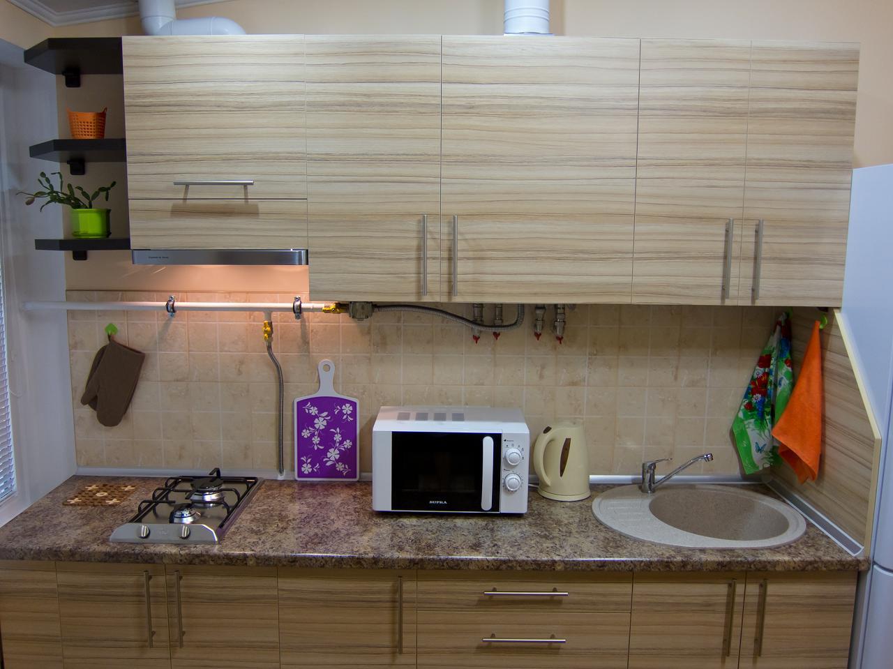 1-кімнатна квартира подобово, Ялта, вул. Пушкінська, 13 (2)