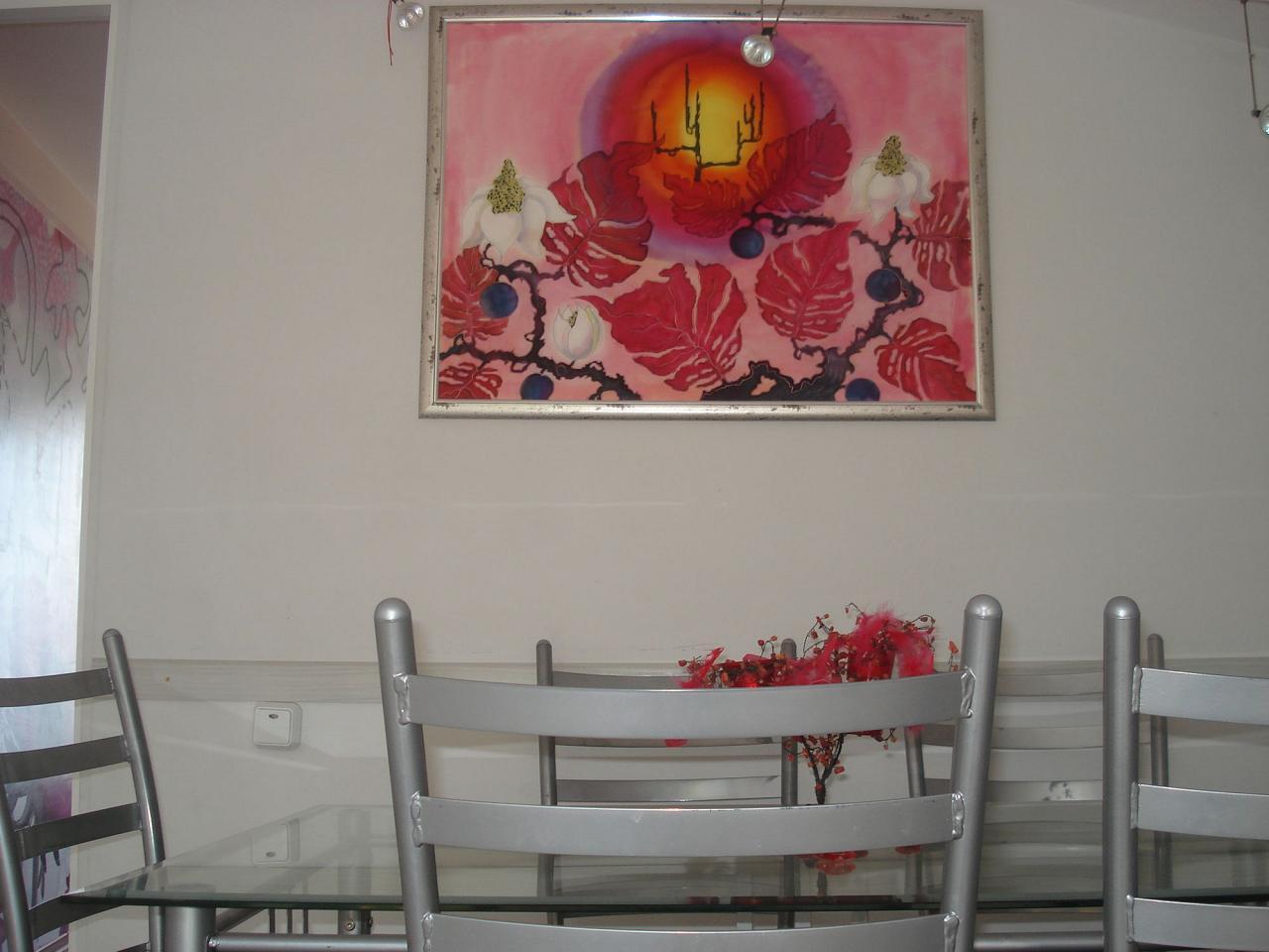 Третий видовой этаж дома в Кастрополе. Две раздельные спальни. Беседка, мангал. (2)