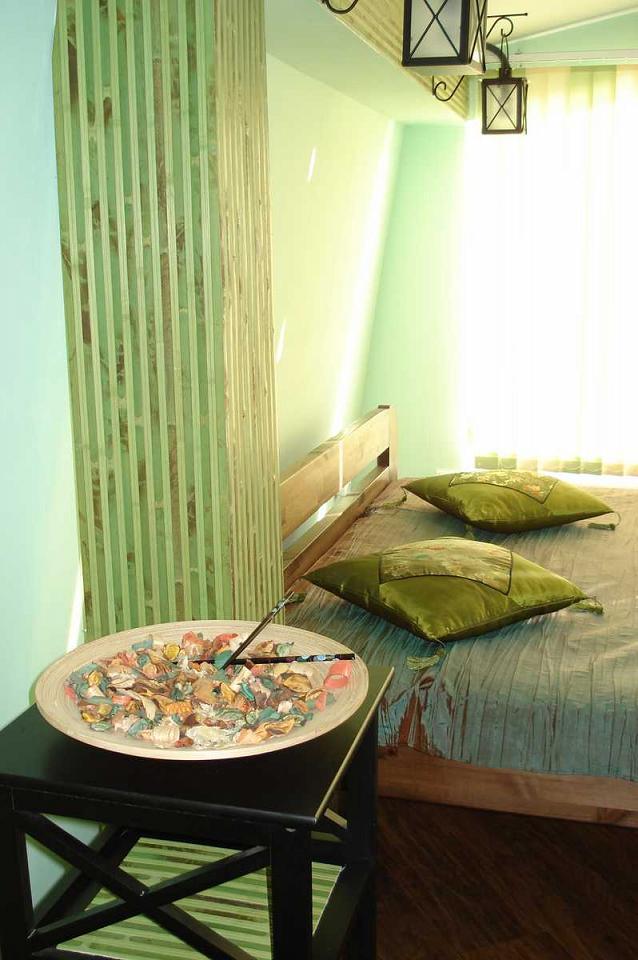 Третий видовой этаж дома в Кастрополе. Две раздельные спальни. Беседка, мангал. (5)