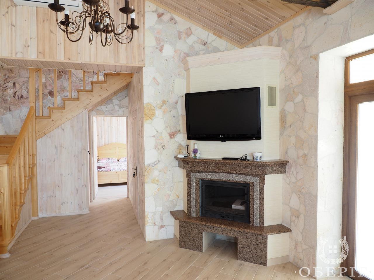 Двухэтажный коттедж-апартаменты люкс с двумя спальнями