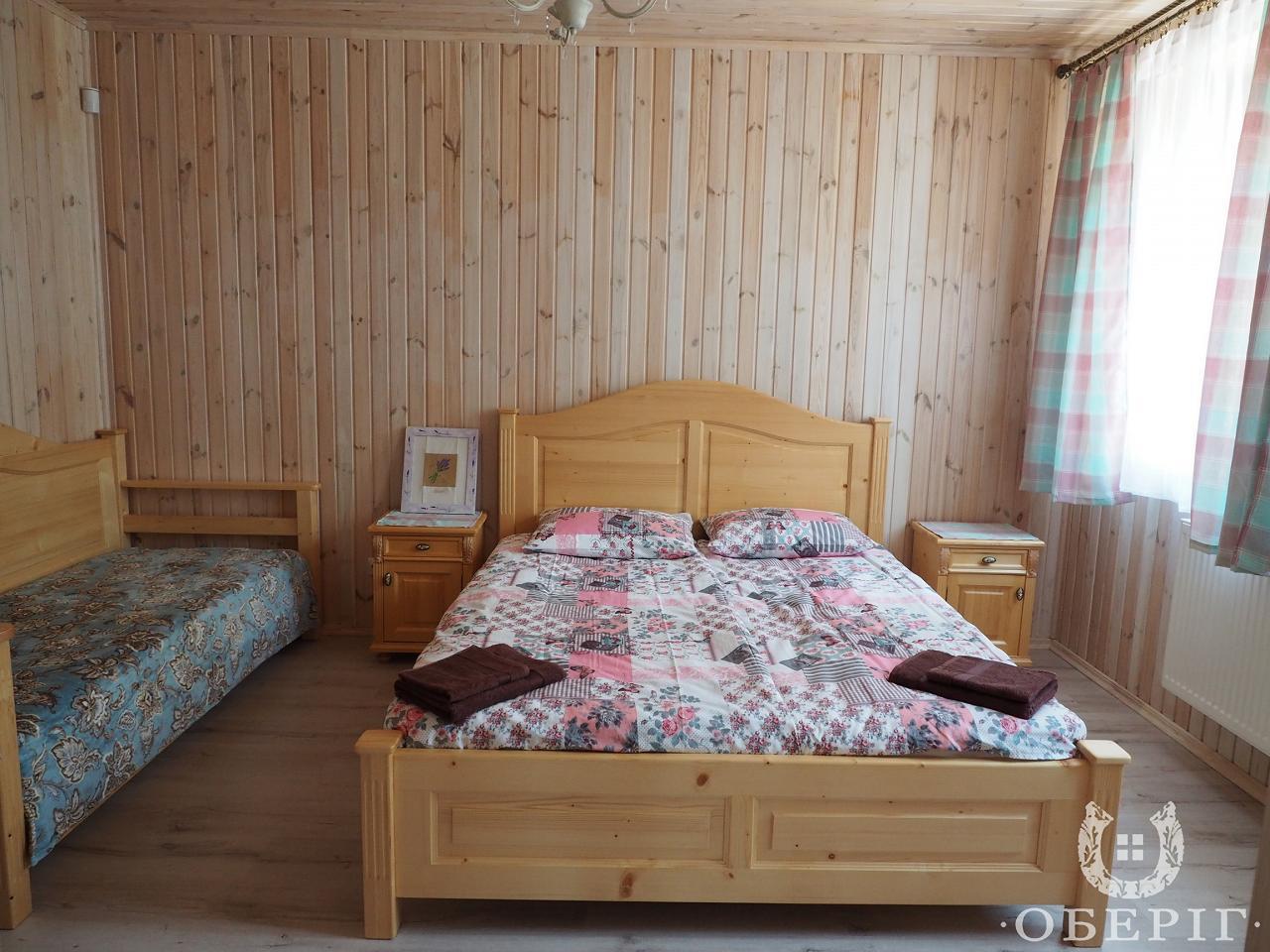 Двухэтажный коттедж-апартаменты люкс с двумя спальнями (3)
